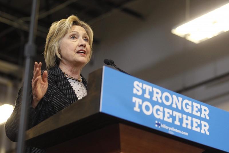 Hillary Clinton está na corrida pela presidência dos EUA