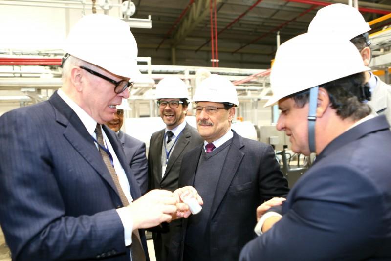 Parisotto (e) e o governador Sartori conheceram as instalações