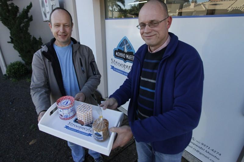Mels Kraan (e) e Willem Vos: planos parecidos motivou sociedade em Ivoti