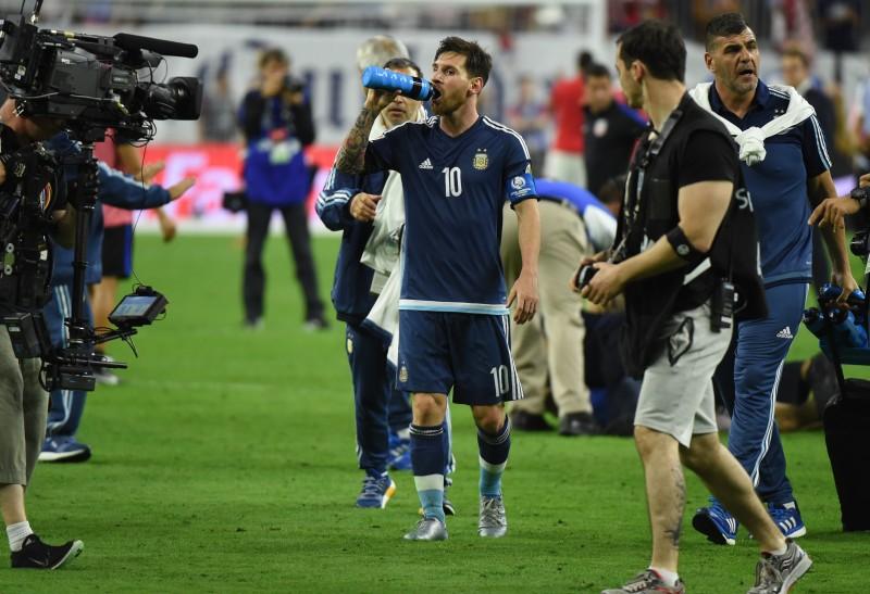 Messi liderou o elenco a vitória da semifinal