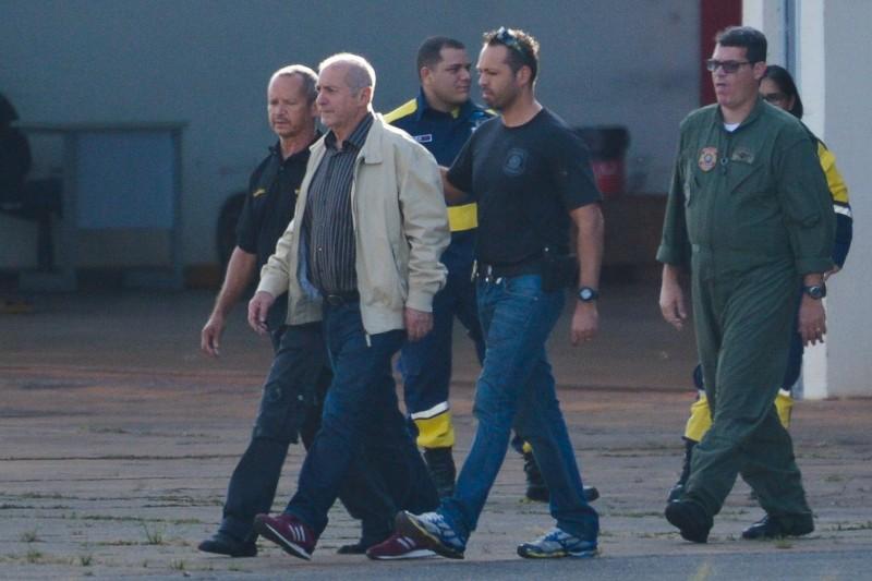 Ex-ministro Paulo Bernardo foi preso em Brasília por agente da PF