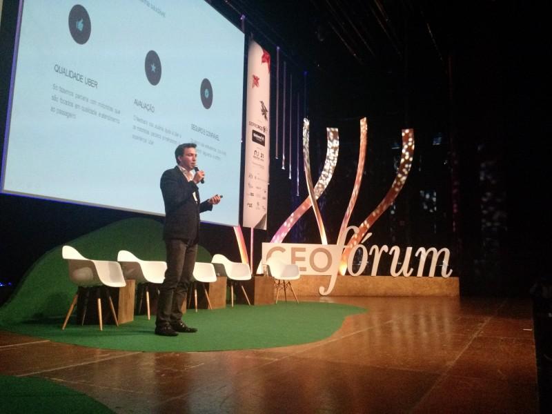 Guilherme Telles foi um dos participantes ontem do CEO Fórum