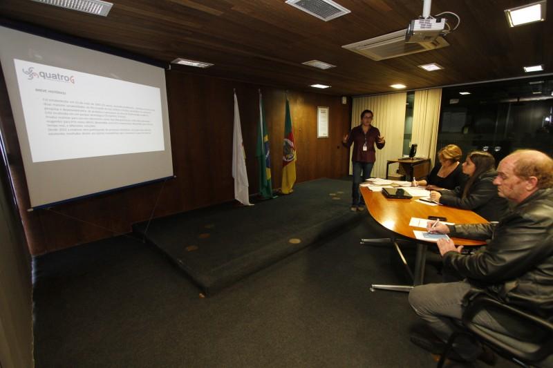Apresentação do andamento técnico e financeiro faz parte do projeto