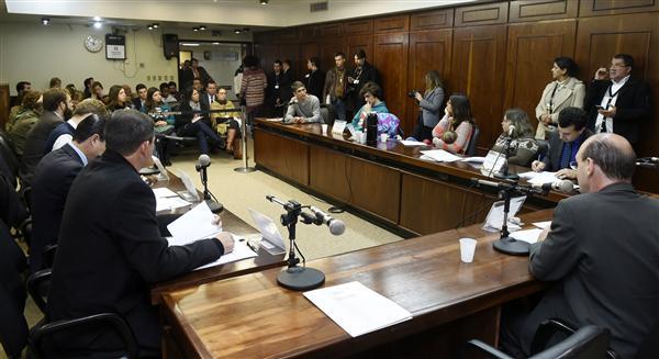 Audiência pública na Comissão de Direitos Humanos ouve Matheus Chaparini