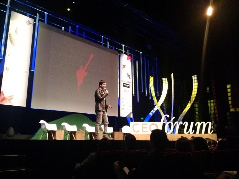 Luis Justo participou do CEO Fórum, realizado semestralmente em Porto Alegre
