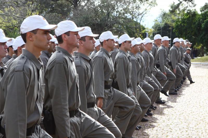 Brigada Militar tem somente 41,6% de suas vagas preenchidas