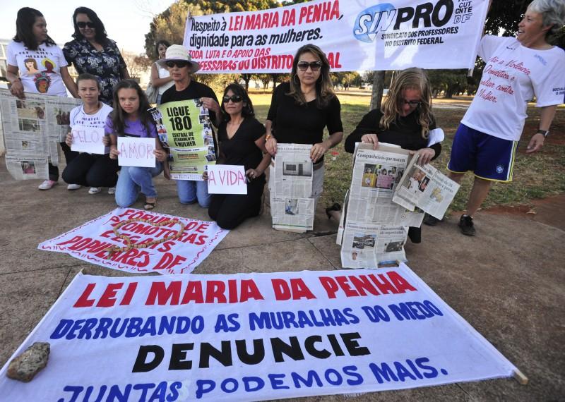 GER - Lei Maria da Penha, Mulheres, violência. Foto Marcello Casal Jr Agência Brasil