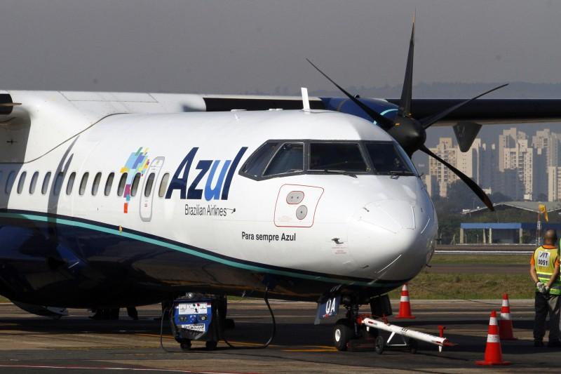 Aeronave turboélice ATR 72-600 tem capacidade para 70 passageiros