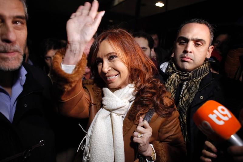 Cristina Kirchner aproveitou para criticar políticas econômicas de Macri