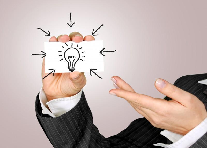 Empresas& Negócios - ideia - empreendedorismo - divulgação stockvault