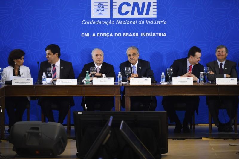 Michel Temer participou da reunião do Comitê de Líderes da Mobilização Empresarial pela Inovação (MEI) na CNI