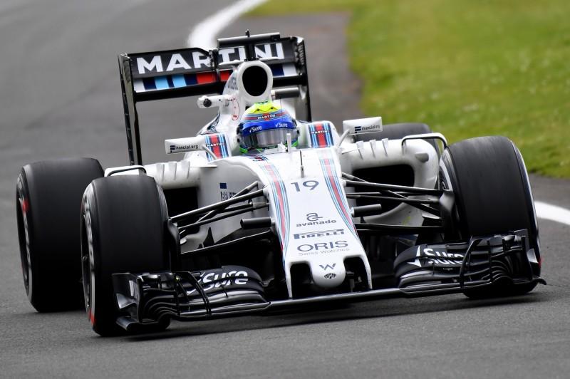 Massa não teve um bom rendimento em Silverstone