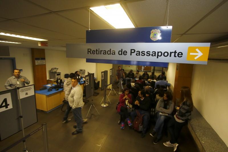 PF suspende emissão de passaportes por tempo indeterminado