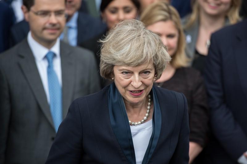 Theresa May disse estar honrada em se tornar líder do partido
