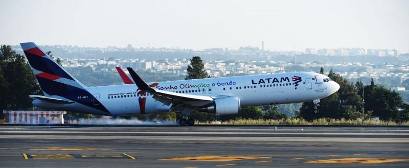 A Latam vem enfrentando problemas de fraca demanda de passageiros