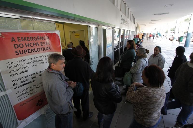 Situação mais grave é a do Hospital de Clínicas de Porto Alegre