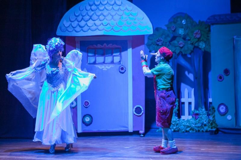 Pinóquio é atração na Cia. Teatro Novo neste domingo, às 17h