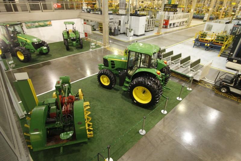 Programa permitiu a manutenção de 300 vagas na fábrica da John Deere