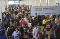 Demanda por transporte aéreo doméstico registrou aumento de 3,6% em julho, diz Anac