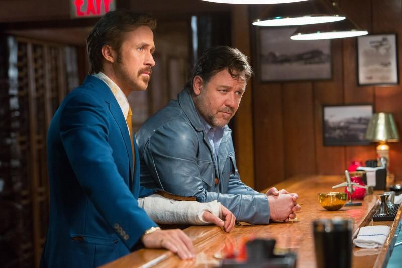 Ryan Gosling e Russel Crowe estrelam Dois caras legais