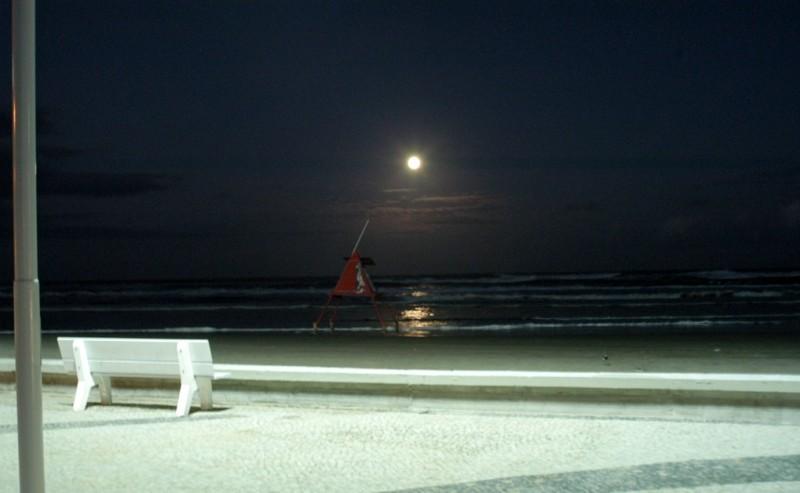 Nova iluminação na Av. Beira Mar, em Capão da Canoa