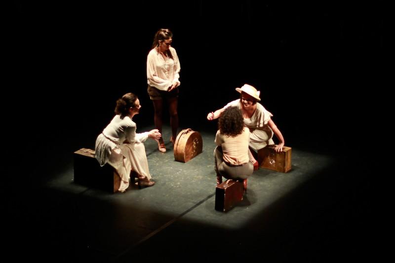 Grupo Andaime apresenta espetáculo em três sessões no Teatro de Arena