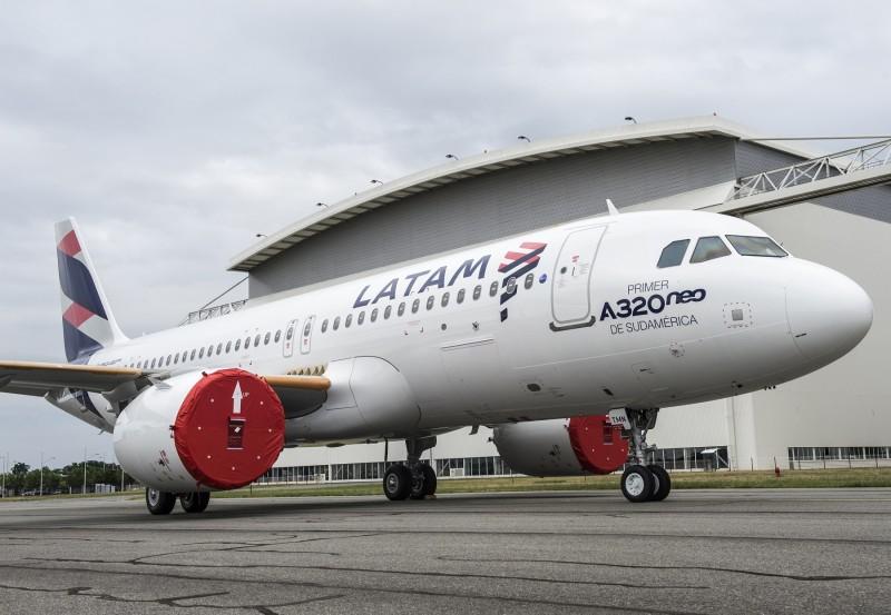 Latam anunciou a suspensão das operações na Argentina