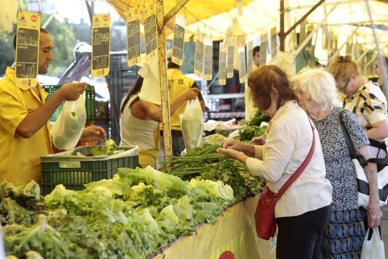 Queda nos preços de hortaliças e legumes ajudou a desacelerar inflação
