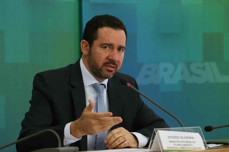 Dyogo Oliveira, ministro interino do Planejamento