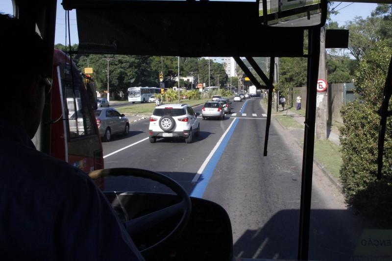 Último trecho do corredor de ônibus na avenida Bento Gonçalves será liberado