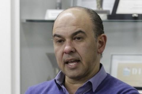 Visita de Edson Busin da Dell´Anno, Diretor de Comunicação do Sindimóveis.