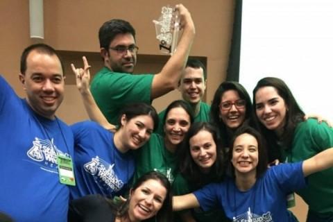 Equipe e mentores do projeto Minha Voz