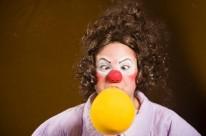 Cia. Palhaça sem Lona apresenta neste final de semana o espetáculo Surpresa!
