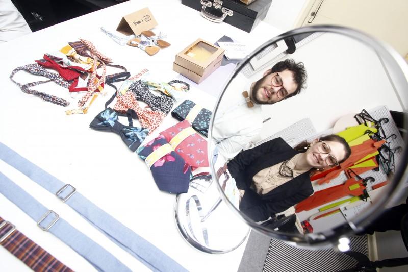 Gabriel e  Kethyene: 'nenhuma peça da Vintax sai igual à outra'