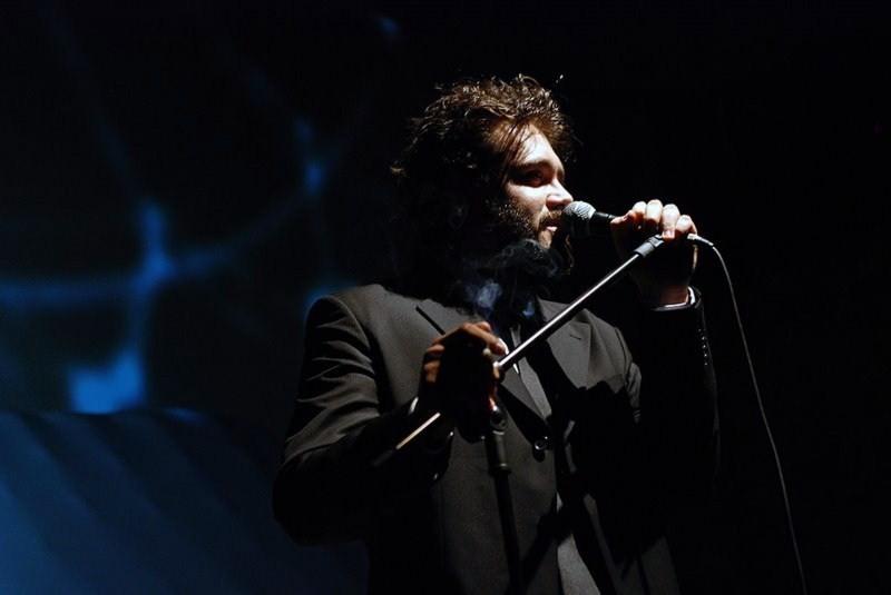 Marcos Contreras no espetáculo Parque de diversões, sua parceria com Diones Camargo