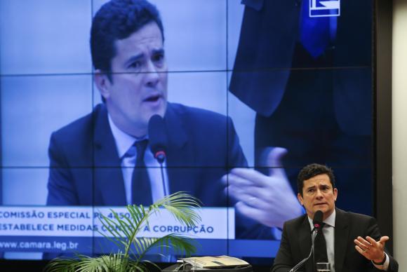 Moro defendeu a revisão das penas mínimas em casos de corrupção