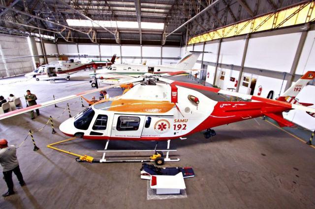 Serviço aeromédico do Estado