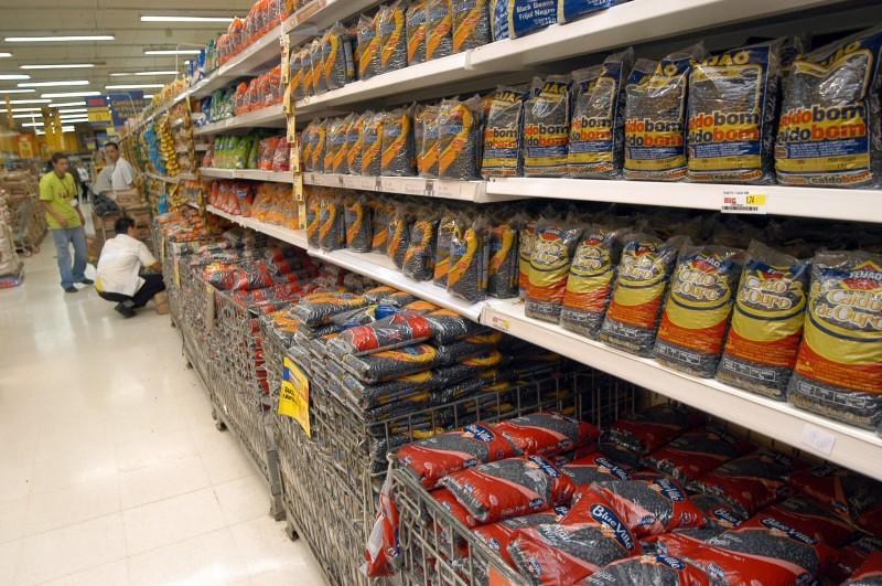 O feijão subiu 22,42% no período