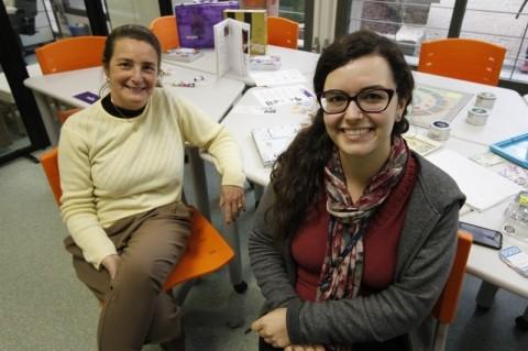 Naira Libermann e Ana Cecília Nunes são responsáveis pelo Idear, hub de empreendedorismo da Pucrs