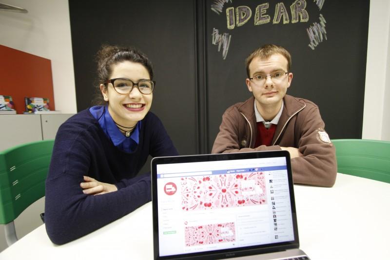 Alessandra e Henrique criaram a Feira Móvel dentro da disciplina que propõe desafios empreendedores