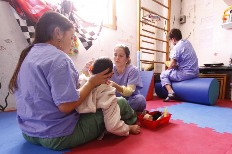 Sede atual da instituição abriga 39 pacientes, de quatro a 38 anos