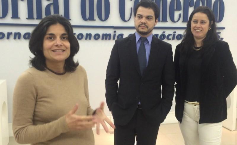 Equipe do TRE-RS visitou a redação do JC para repassar informações sobre regras para a campanha