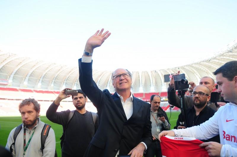 Paulo Roberto Falcão não é mais o técnico do Internacional