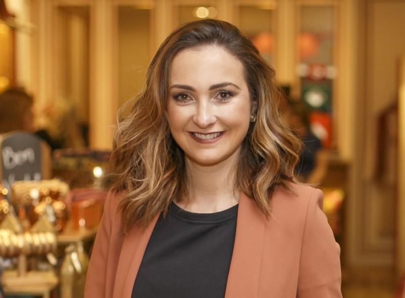Clarissa Cabeda participou do bate papo sobre lifestyle com Traudi Guida, na loja SouQ