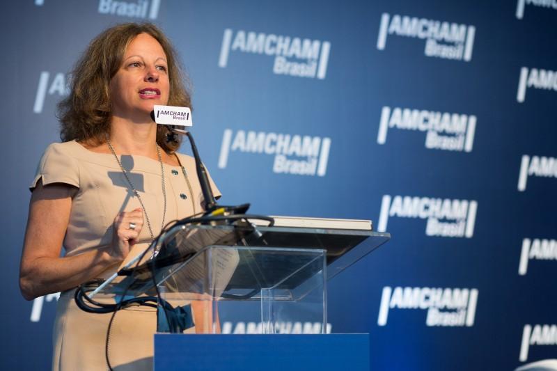Deborah Vieitas, CEO da Amcham Brasil