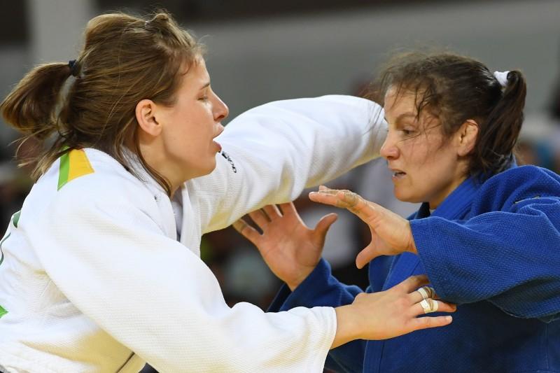 Judoca foi eliminada pela austríaca Bernadette Graf