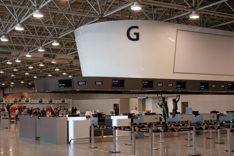 Aeroporto carioca está abaixo da média de 17 milhões de passageiros