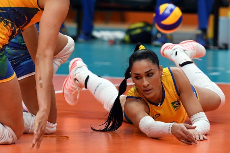 Brasil de Jaqueline Endres caiu diante da China nas quartas de final 5abee227eedf3