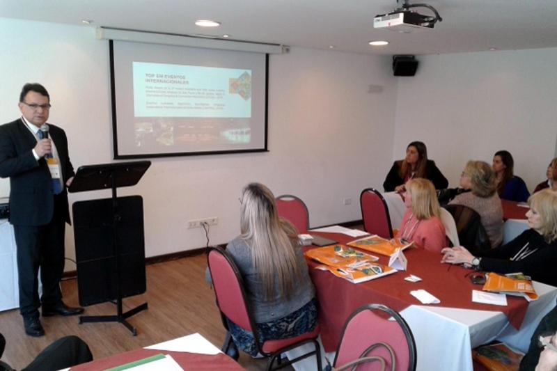 Moraes destacou a presença de visitantes do Uruguai na Capital