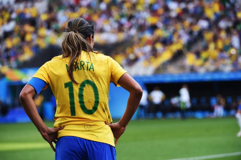 """Em nota, a atleta brasileira disse que """"o esporte é uma ferramenta fantástica para o empoderamento."""""""